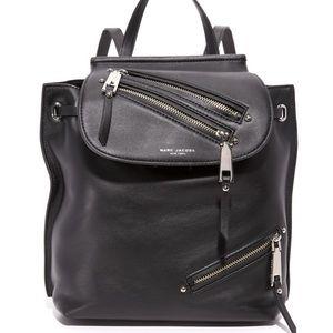 Mark Jacobs zip pack backpack EUC